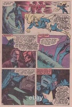 1979 Don Newton Batman Brave & The Bold #156 Original Comic Art Page Doctor Fate