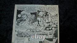 1987 MASTERS of the UNIVERSE MOTU Marvel Comics Original Art HE-MAN George Tuska