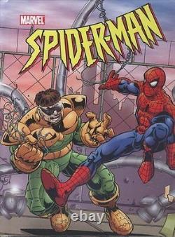 AMAZING SPIDER-MAN vs DOC OCK ORIGINAL COVER ART DOUBLE PAGE SPREAD MARVEL BOOK