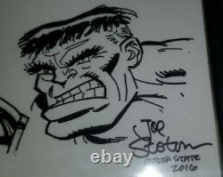 AVENGERS ORIGINAL Jam Sketch Art CBCS Signed SIMONSON SINNOTT STATON WIACEK CGC