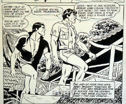 Alex Toth Original Art Adventure Comics #496 (1983) Challengers Of The Unknown