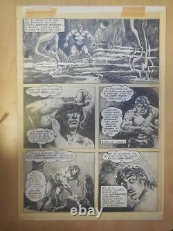 Alfredo Alcala Original Art Comic Strip Art