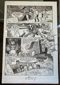 Aliens (1989) #6 Pg. 23 Mark A. Nelson Original Comic Book Interior Page Art