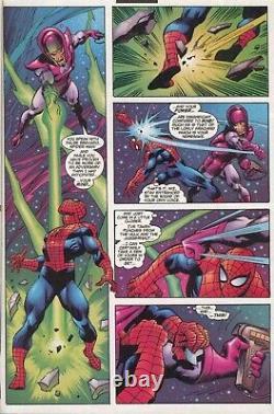 Amazing Spider-Man 1999 John Buscema (pencils & inks) Original Art Marvel Comics