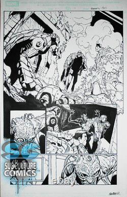 Amazing Spider-man #699 Page 18 Interior Original Comic Art Signed Ramos