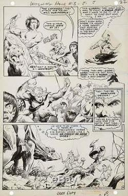 BERNIE WRIGHTSON ORIGINAL ART 1969 WITCHING HOUR #3 PAGE 4 Swamp Thing Artist