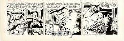 BIG BEAUTIFUL 1949 Alex Raymond RIP KIRBY Daily ORIGINAL COMIC STRIP ART