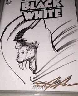 Batman #1 Blank Cover Original Art Sketch Neal Adams Cgc 9.6 Ss DC Comic Art