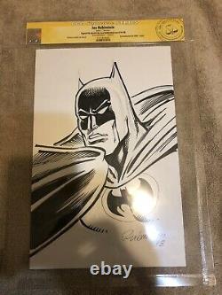 Batman 1 CGC SS Detective Gotham Original art Sketch Rubinstein 2018