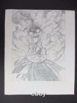 Batman Nevermore #5 DC 2003 (Original Art) Cover by Bernie Wrightson