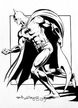 Batman Original Comic Art By The Legendary Dick Giordano Neal Adams Style