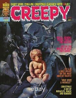 Bernie Wrightson Creepy #77 Clarice Panel Original Comic Art (warren, 1976)