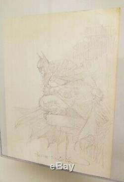 Bernie Wrightson Detective Comics #1000 Variant Cover Pre-sketch Original Art