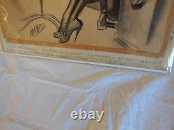 Bill Ward Original Art Torrid Tales Good Girl Art