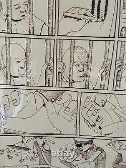 Blu Original Comics Board Street Art No Prints Banksy Warhol