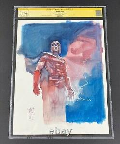 CGC Art Magneto Color Sketch by Alex Maleev! Marvel X-Men Avengers Original Art