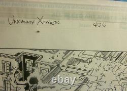 Comic Art UNCANNY X-MEN #406 Page #11 Marvel Comics Lopresti/Morales ORIGINAL