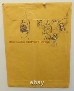 DAVE STEVENS ORIGINAL ART On MARVEL CATALOG #2 ENV 1970 Iron Man CAPTAIN AMERICA