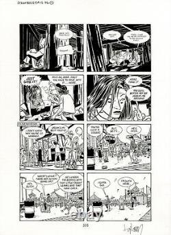 DAVID LAPHAM Stray Bullets #12 p17 ORIGINAL COMIC ART