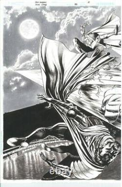 DC ACTION COMICS #981 Pages 10 11 Original Published Art Splash Herbert SUPERMAN