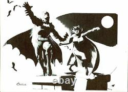 DC Comics BATMAN & CATWOMAN Original Art GOTHAM HARLEY IVY ROBIN JOKER SUICIDE