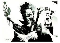 DC Comics JOKER Original Art BATMAN ROBIN CATWOMAN GOTHAM HARLEY QUINN BANE IVY