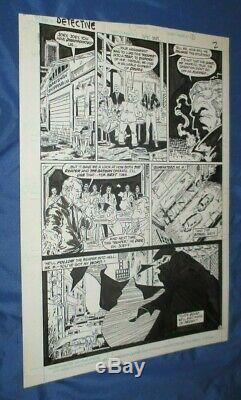 DETECTIVE COMICS #578 Original Art Page #2 by Todd McFarlane Reaper (Batman)