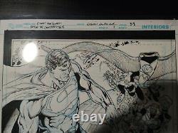 Day of the Composites #1 Ethan Van Sciver Original Interior Art Page Superman DC