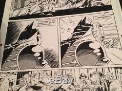 Detective Comics #672 P. 19 Graham Nolan Original Art Batman DC Comics