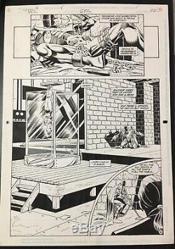 Detective Comics #672 P. 22 Graham Nolan Original Art Batman DC Comics