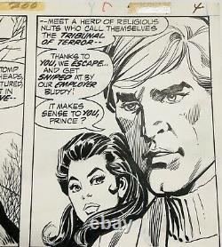 Dick Giordano Original Comic Art Wonder Woman #200 PG# 4 Diana Prince 1972