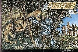 Fugitoid #1 Tmnt 1985 Original Cover Proof Production Art Signed Eastman & Laird