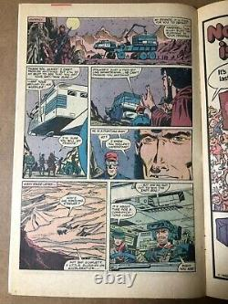 G. I. Joe #6 original comic art page Real American Hero Afghanistan ARAH Trimpe