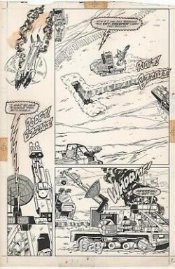 G. I. Joe A Real American Hero #81 Pg 2 1988 Marvel Original Comic Art Gijoe