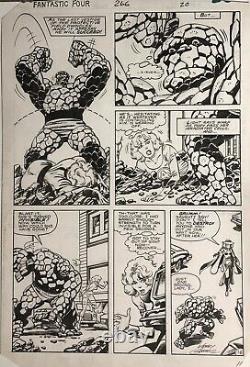 GAMMILL/ BYRNE FANTASTIC FOUR 266 page 20, original art, MARVEL, 1984