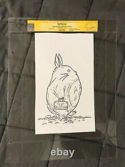 GEOF DARROW Original Art TOTORO CGC Sketch Signed shaolin cowboy hayao miyazaki