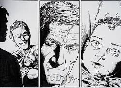 Gary Frank Original Comic Art Page from Supreme Power Originalseite
