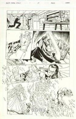 Gen 13 The Unreal World #1 p. 31 All Action original art by Humberto Ramos