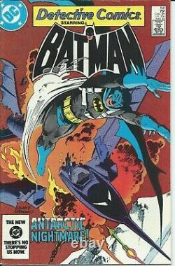 Gene Colan / Bob Smith ORIGINAL ART Detective Comics 541 page 13 (1984) Signed