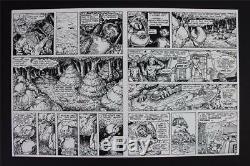 Gobbledygook #2 MASTER PRINTS TMNT Turtles 1 of a KIND! W Original Art Eastman