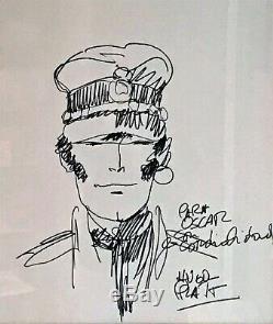 Hugo PRATT Corto Maltese Dessin original signé