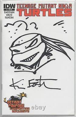 Idw Teenage Mutant Ninja Turtles Blank #1 Kevin Eastman Original Art Sketch