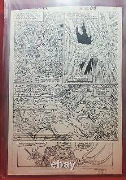 Incredible Hulk #341 Pg. 18 Original Art