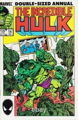 Incredible Hulk Original Comic Art Annual Issue #14 Pg #17 Sal Buscema Art 1986