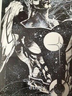 JAE LEE Aster issue 1 original comic cover art page McFarlane Jim Lee Hellshock