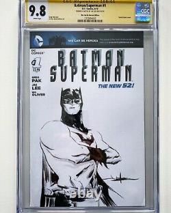 Jae Lee Batman Original Art Sketch CGC 9.8