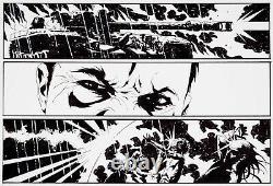 Jae Lee Original Comic Art Page Inhumans Maximus Originalseite