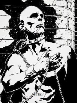 Jae Lee Original Comic Art Page Inhumans Originalseite