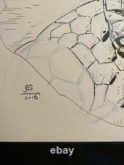 Jim Cheung Thing Original Art Sketch