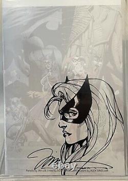 Jim Lee & Scott Williams Original Black Canary Sketch! Hand Drawn Art